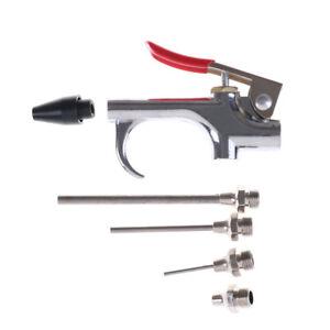 5PCS-Air-Compressor-Blow-Kit-Nozzles-Inflation-Needle-Spray-Blower-Gun-ToolBJKU