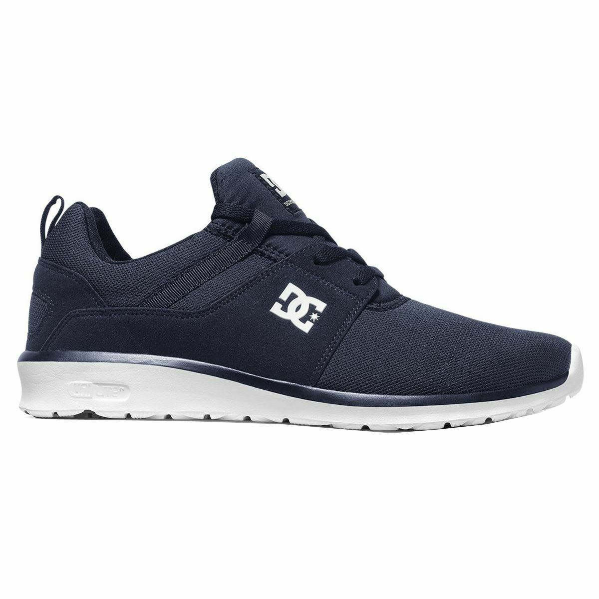 DC shoes Heathrow White Navy Mens Trainers