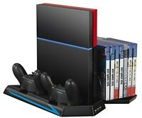 [upgraded] Ps4 Cooler, Amir® Ps4 Vertical Stand Cooling Fan, Dual Charging St...