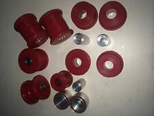 BMW E36 REAR SUBFRAME BUSHES & DIFF Mounts - red DURAFLEX Polyurethane