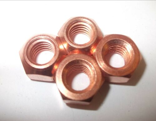 4 x 10 mm exhaust Manifold copper flashed Nut  high temp auto parts car parts