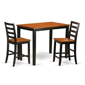 Image Is Loading 3 Piece Counter Height Pub Set Pub Table