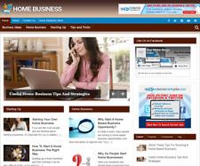 Home Business Plr Niche Blog Wordpress Ready Made Website