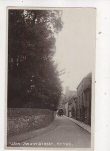 Mount Street Hythe Kent Vintage RP Postcard 644b - Aberystwyth, United Kingdom - Mount Street Hythe Kent Vintage RP Postcard 644b - Aberystwyth, United Kingdom