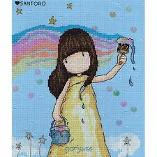 BOTHY THREADS SANTORO GORJUSS RAINBOW DREAMS COUNTED CROSS STITCH KIT XG32