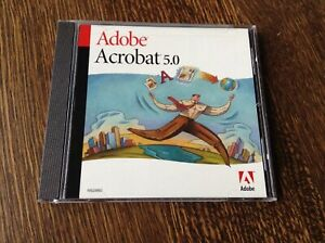 Adobe-Acrobat-5-0-Full-Version-5-0-5-CD-Serial-included-NEW-Sealed