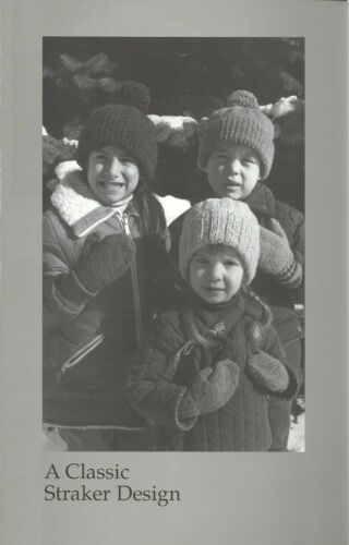 Child/'s Basic Cap /& Four-Needle Mittens Knitting Pattern Penny Straker #C732 NEW