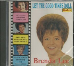 BRENDA-LEE-CD-Let-The-Good-Times-Roll-BRAND-NEW
