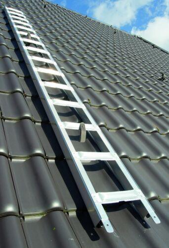 Premium Dachleiter Alu Dachdeckerauflegeleiter 4,32 m frei Haus