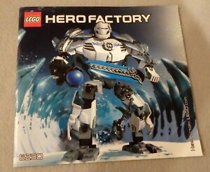 LEGO-HERO-FACTORY-Instruction-Manual-Only-6230-Stormer-XL