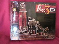 Puzz 3D Seaside Lighthouse Charles Wysocki's Americana Sealed