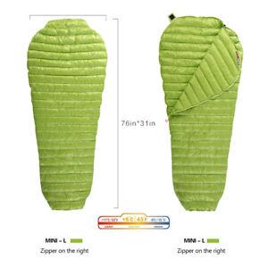 AEGISMAX-Mummy-Goose-Down-Sleeping-Bag-Outdoor-3-Season-Urltra-Light-11-Degree
