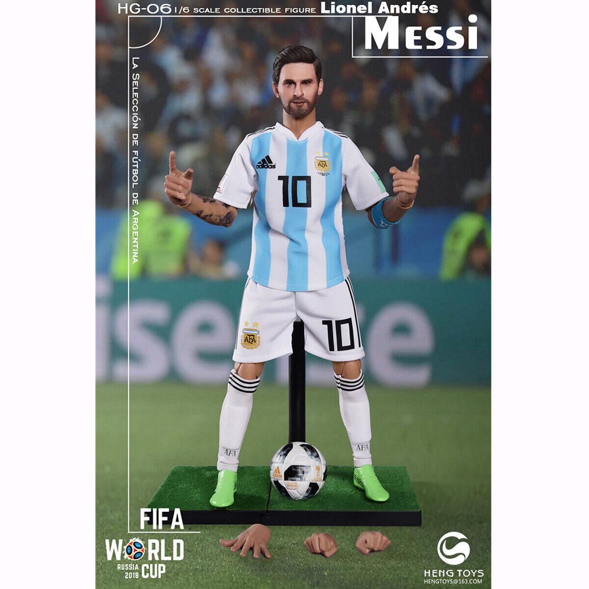 HENG leksaker 1  6 HG -06 2018 värld Cup fotboll Fotboll Spelare Messi Figur Body leksaker
