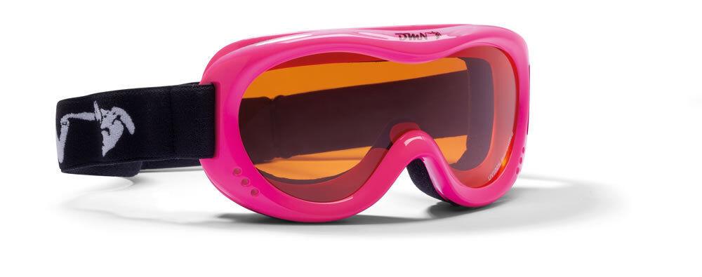 DMN Snow 6 Double junior fucsia fluo safety Skibrille Snowboardbrille