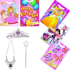 Great Party Bag Fillers! Birthday Princess 4 Wands