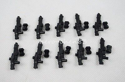 PICK YOUR WEAPON Accessory Toys Gift Black Gun Medieval Knights Plastic Weapon