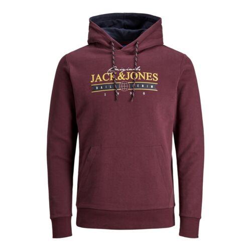 Jack/&Jones Hombre OFERTA Antes 34,99 sudadera con capucha felpa algodón