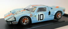 Bang 1/43 Scale diecast - 7073 Ford GT40 Le Mans 1968 Sea Blue