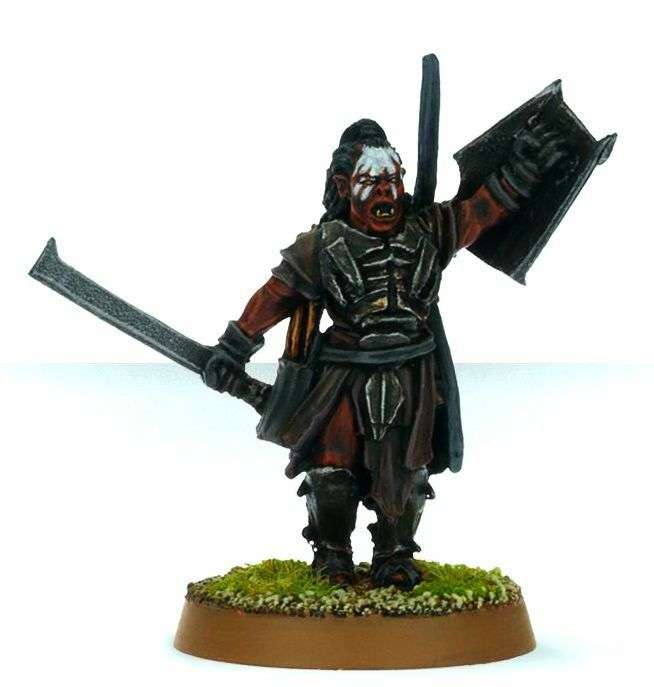 Lurtz URUK HAI -  PRO PAINTED - New Line. GW METAL Lord of the Rings