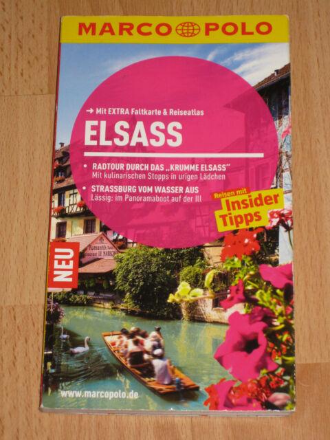 MARCO POLO Reiseführer Elsass von Pascal Cames (2013, Taschenbuch)
