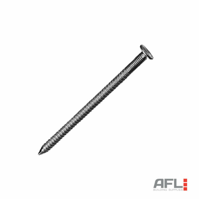 FORGEFIX FORAR75B500 Annular Ring Shank Nail Bright 75mm Bag Weight 500g