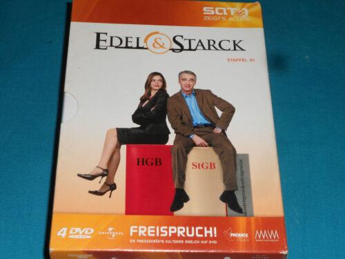 1 von 1 - Edel & Starck - Staffel 1 Box-Set (4 DVDs)