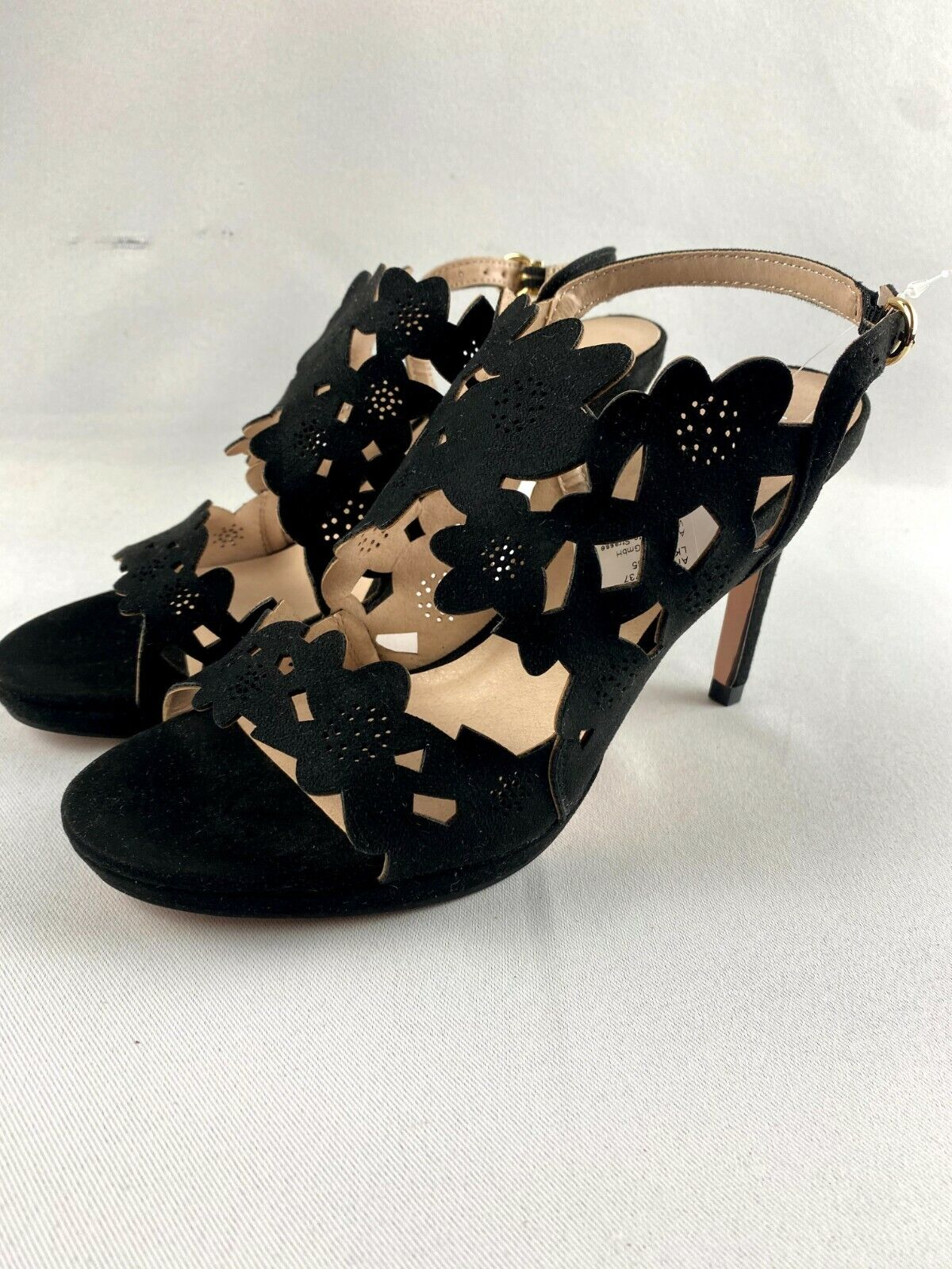 Bruno Banani * Motif * Sandale * noir * Fleurs *
