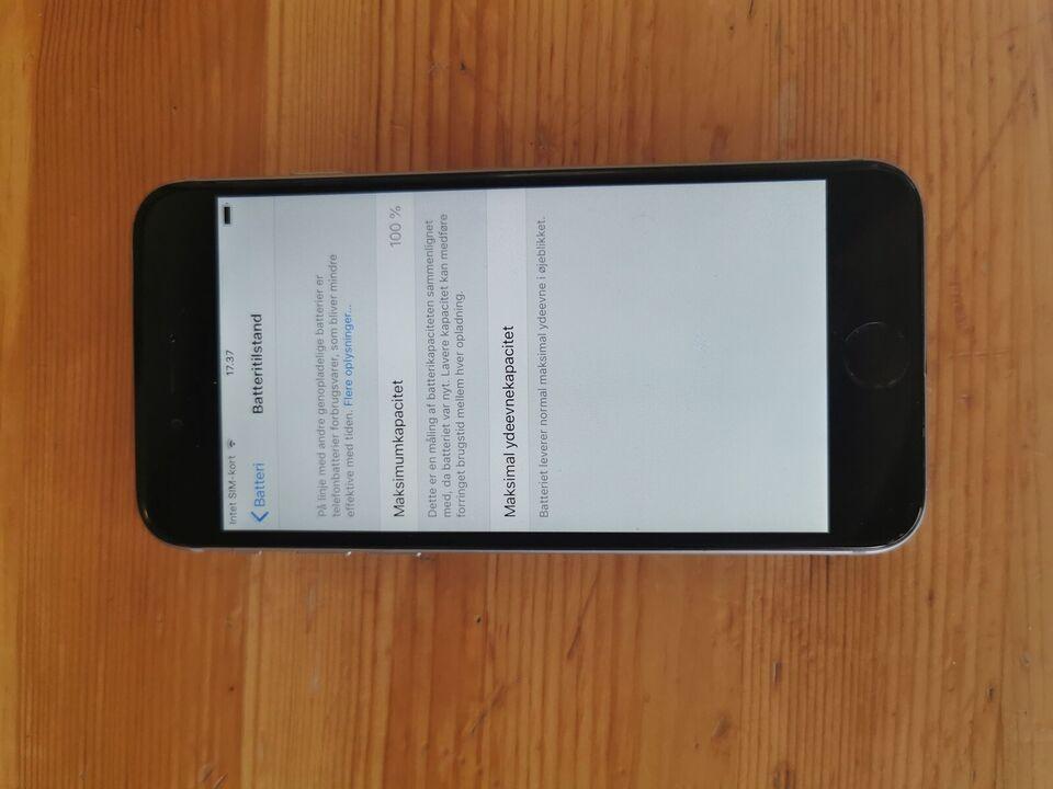 iPhone 6, 64 GB, aluminium