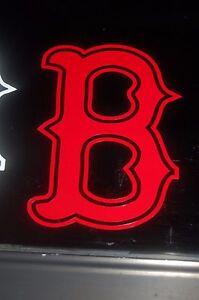 Boston Red Sox Quot B Quot Mlb Vinyl Decal Car Truck Sticker 77019