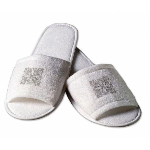 Hotel Hausschuhe Slipper Pantoffeln Einweg Acanto 10 Paar Baumwolle Frottee