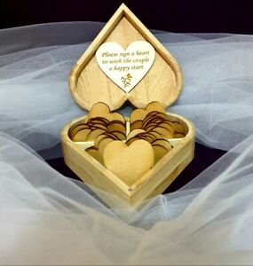 Wooden-Wedding-Wish-Box-Personalised-Guest-Book-Alternative-Drop-in-Box-Wishes
