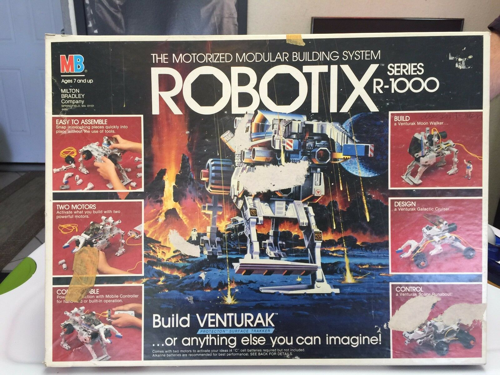 ROBOTIX  SERIES R-1000 AND 1500 AND 2000 ----3-SETS -3-ORIG. CARRY CASES  REDUCE