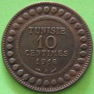 TUNISIE-10-CENTIMES-1916