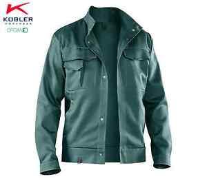 Arbeitsjacke Arbeitsbekleidung Bundjacke ORGANIQ Kübler Größen 25-118 Hellgrün