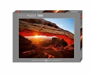 Heye Puzzles - 1000 Piece Jigsaw Puzzle - Mesa Arch, Tomas Kaspar HY29594