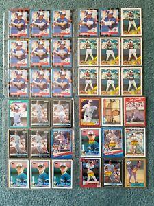 Kelly-Gruber-Baseball-Card-Mixed-Lot-approx-126-cards