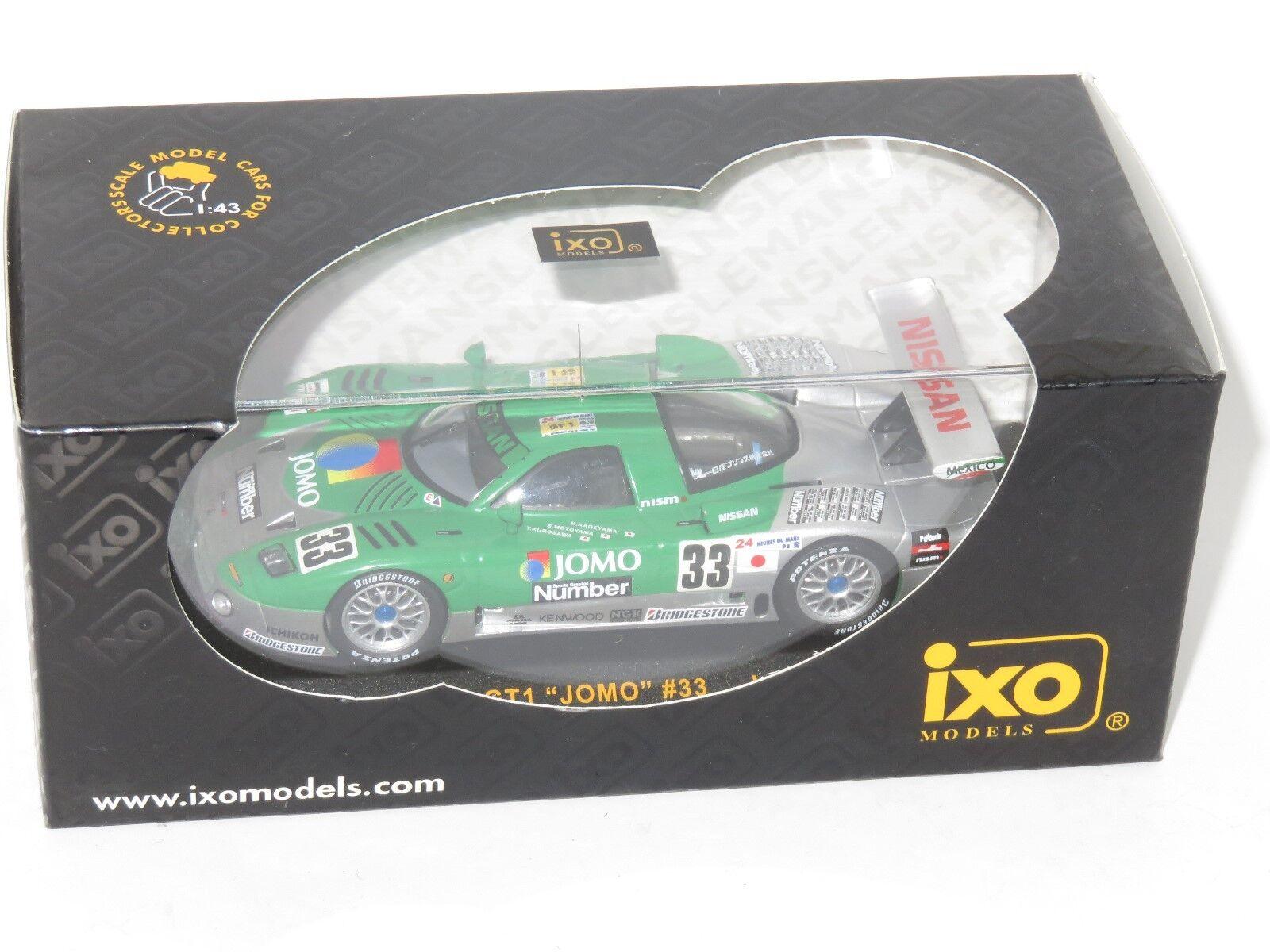 1/43 NISSAN R390 GT1 Jomo NISSAN Motorsports LE MANS 24 ore 1998  33