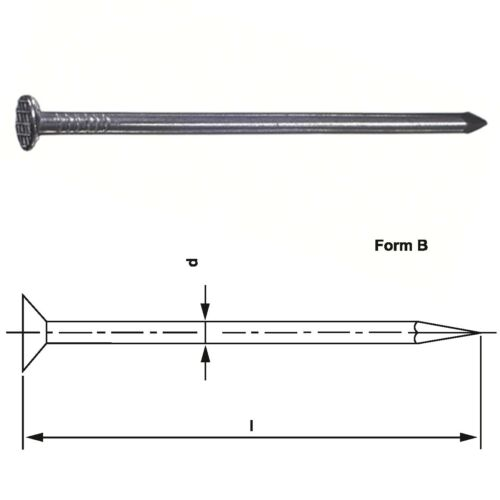 Drahtstift Nagel Nägel Senkkopf blank DIN 1151 versch Größen Auswahl