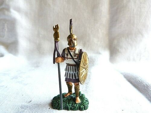 Soldat de plomb de l'antiquité - Macedonian standard bearer 4ème siècle A.JC