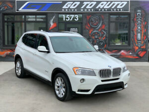 2011 BMW X3 35i xDrive SUV - Nav|Cam|Leather|Roof|Low Kms!!