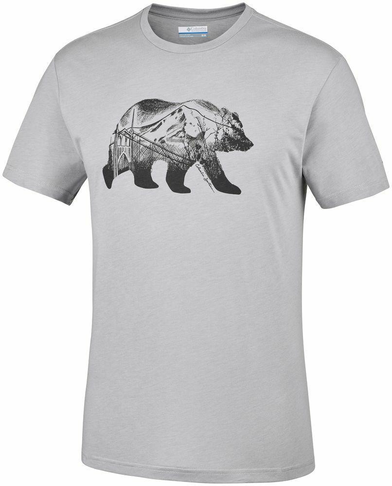 COLUMBIA Baker Brook EM0736039 Baumwolle T-Shirt Kurzarm Shirt Herren Neuheit     eine große Vielfalt    Starke Hitze- und Abnutzungsbeständigkeit    Quality First