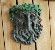 Item 2 RUSTIC OLD TREE FACE /GREEN MAN PLAQUE/ STATUE /YARD ART  /FOREST/PAGAN /WICCA  RUSTIC OLD TREE FACE /GREEN MAN PLAQUE/ STATUE /YARD  ART /FOREST/PAGAN ...