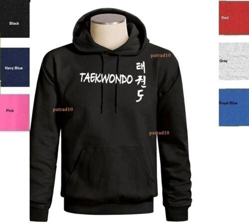 Taekwondo Sweatshirt Korean Martial Art Fighting  combat Sport Hoodie SZ S-3XL