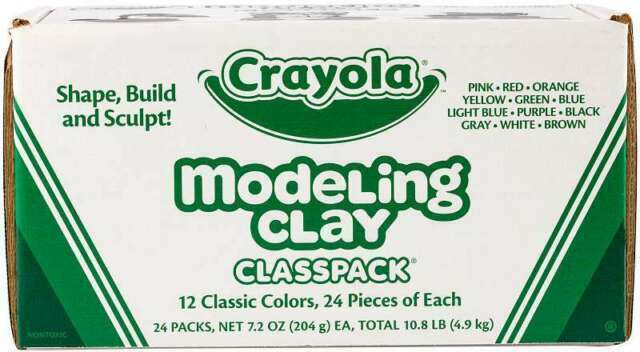 Crayola Modeling Clay Classpack Assorted 24 Lbs Cyo230288 for sale online
