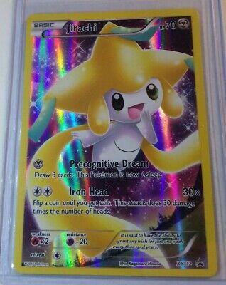 Pokemon Card Jirachi Full Art Holo Pokemon Card Black Star Generations XY Promo