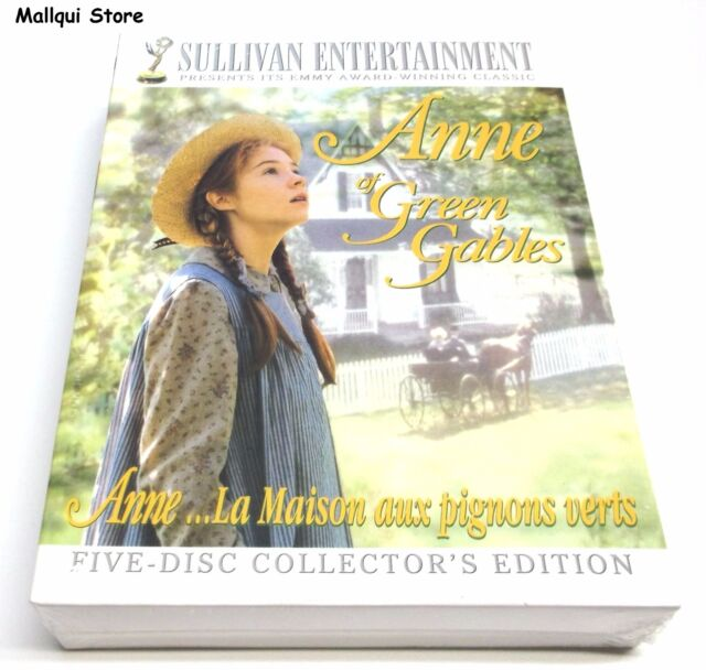 Anne Of Green Gables The Collection Dvd 2008 5 Disc