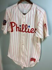 1997 Reading Phillies game worn baseball jersey #24 with Jackie Robinson patch