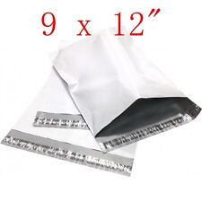 """800 pcs 9x12"""" Poly Mailers Shipping Envelopes Plastic Bags, 2.35 Mil"""