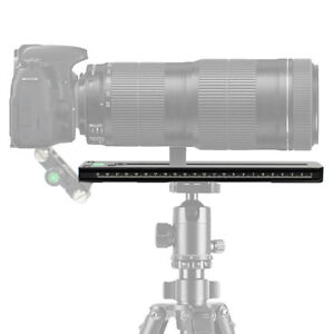 Aluminum-250mm-Rail-Quick-Release-Plate-for-Arca-Swiss-Tripod-Zoom-Bracket