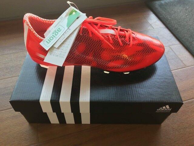 Adidas F30 FG Fußballschuhe rot, schwarz Gr. UK 9 EUR EUR EUR 43 1 3  | Outlet  5764e1